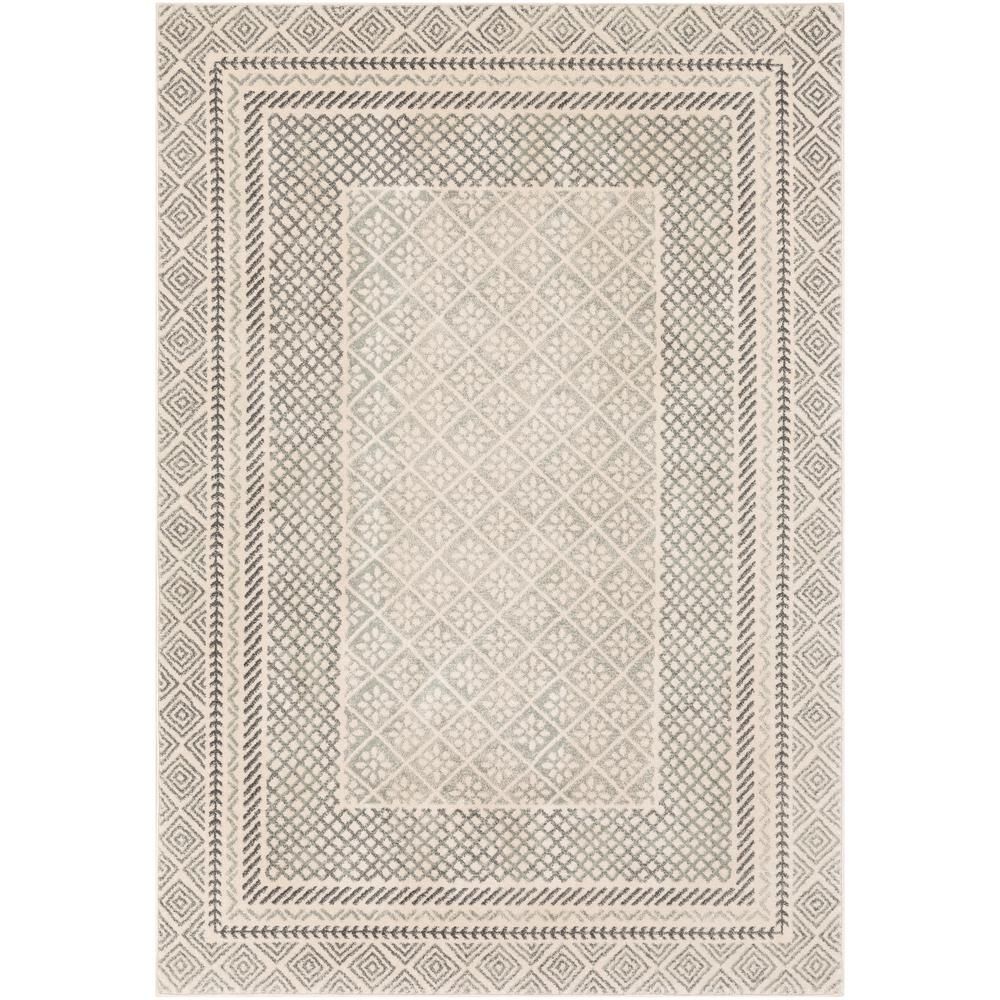 Artistic Weavers Eurydice Gray 3 ft. 11 in. x 5 ft. 7 in. Border Area Rug