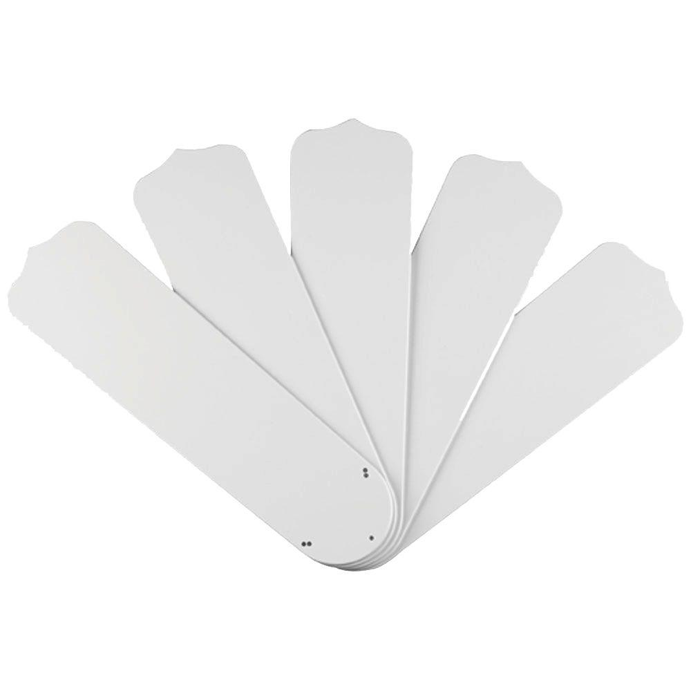 Westinghouse 52 in white outdoor replacement fan blades 5 pack white outdoor replacement fan blades 5 pack aloadofball Choice Image