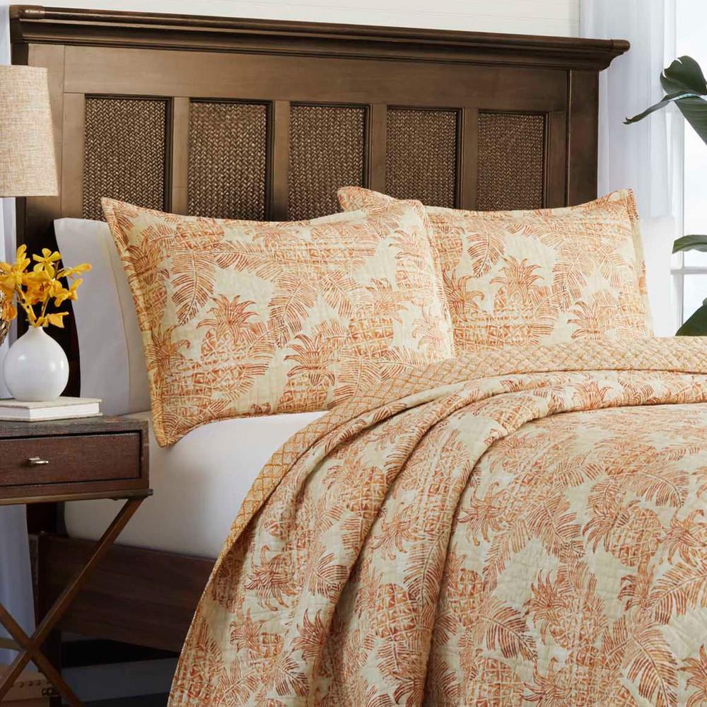 Batik Pineapple Multi-Piece Cotton Quilt Set