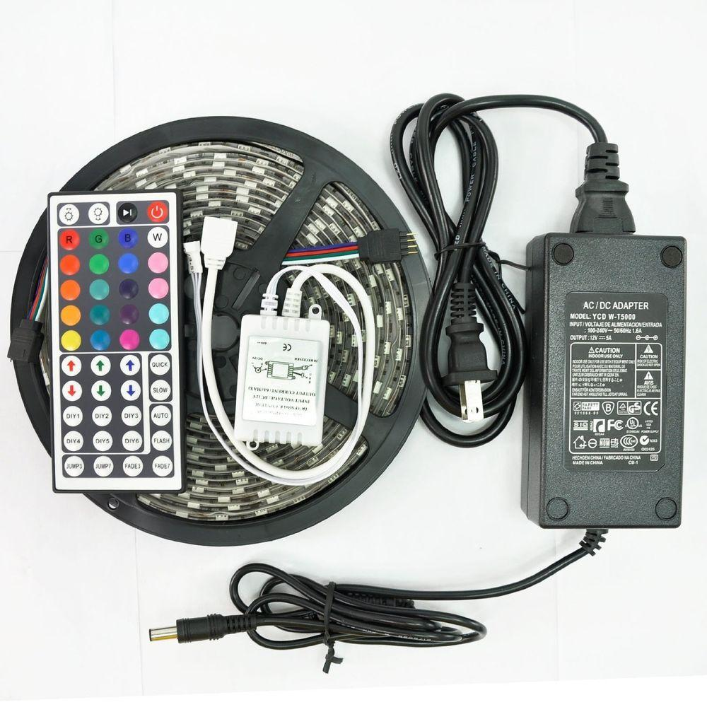 Adx 164 ft led ip65 rated strip light kit suite led strip wa the led ip65 rated strip light kit suite aloadofball Images