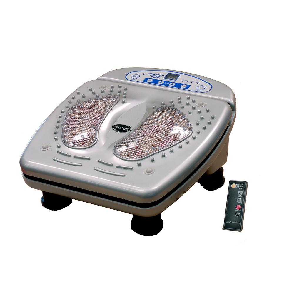 Vibration In Foot >> Icomfort 15 Speed Foot Massager Heat And Vibration