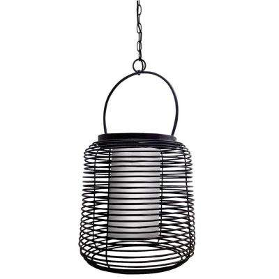 Foundry 1-Light Black Pendant