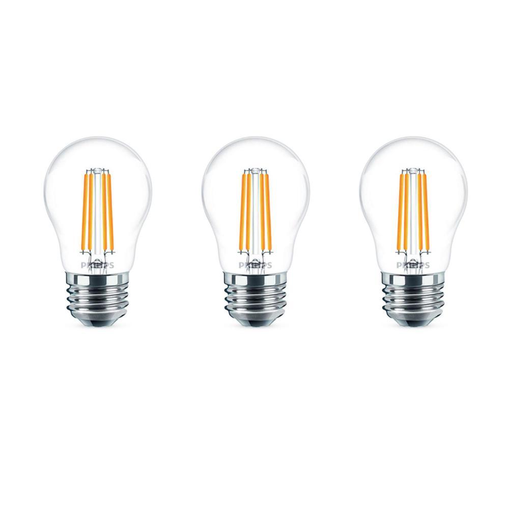40-Watt Equivalent A15 LED Light Bulb Daylight Globe (2-Pack)