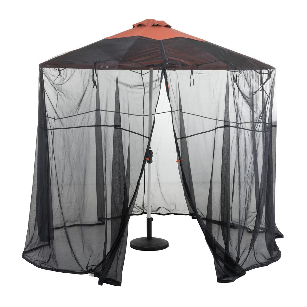Classic Accessories Patio Umbrella Insect Net Canopy