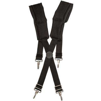 Black Nylon Tradesman Pro Suspenders