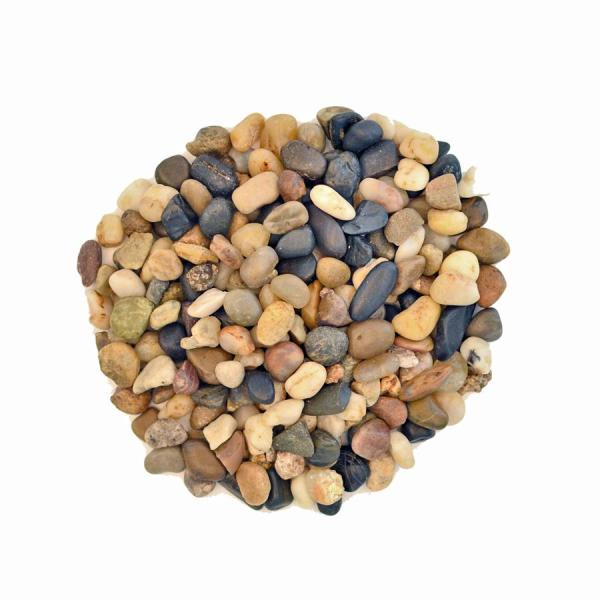 Mosser Lee 5 Lbs River Pebbles In Storage Jar 2181 The Home Depot