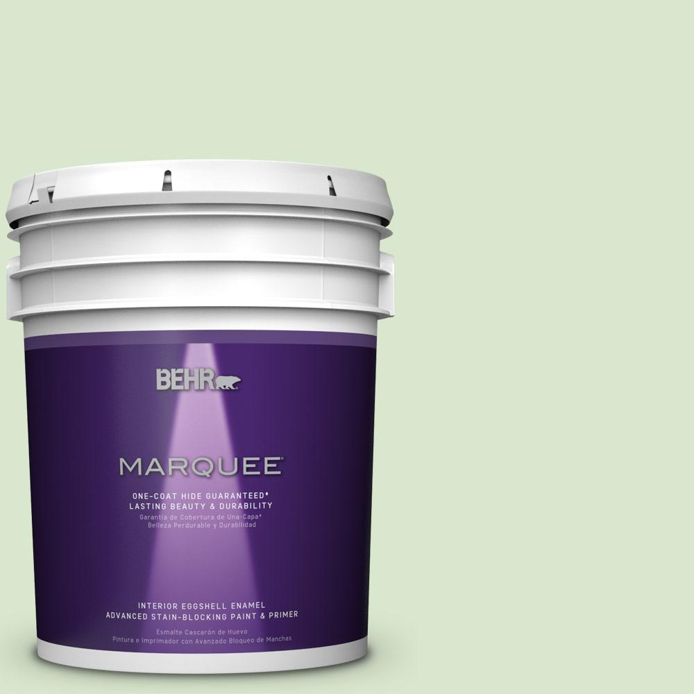 5 gal. #T12-18 Minty Frosting Eggshell Enamel Interior Paint