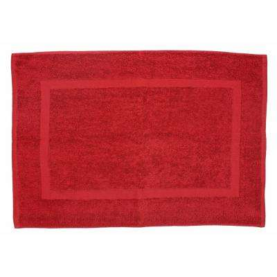 20 in. x 30 in. Paprika Provence Bath Mat