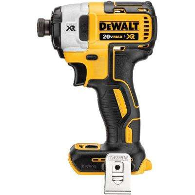 20-Volt MAX XR Lithium-Ion Cordless Brushless 3-Speed 1/4 in. Impact Driver (Tool-Only)