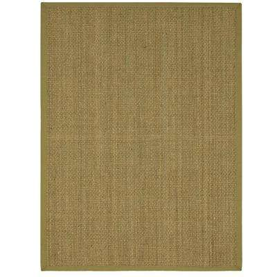 Seascape Natural 8 ft. x 10 ft. 6 in. Area Rug