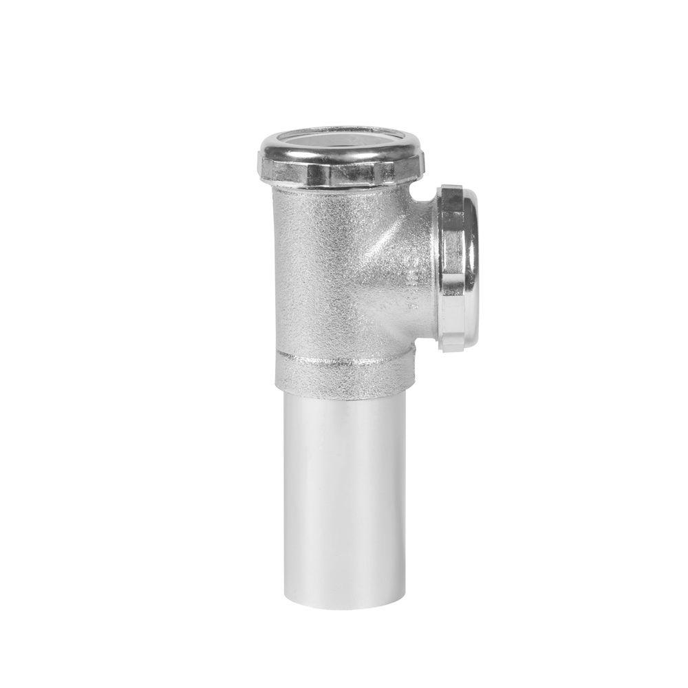Dearborn Brass 1.5 in. Baffle Tee with Tailpiece