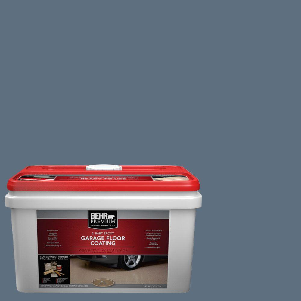 BEHR Premium 1-gal. #PFC-55 Sea Cave 2-Part Epoxy Garage Floor Coating Kit