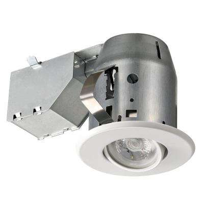 Led Directional 3 In White Recessed Kit