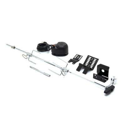 Heavy-Duty 39.5 in. Universal Rotisserie Kit