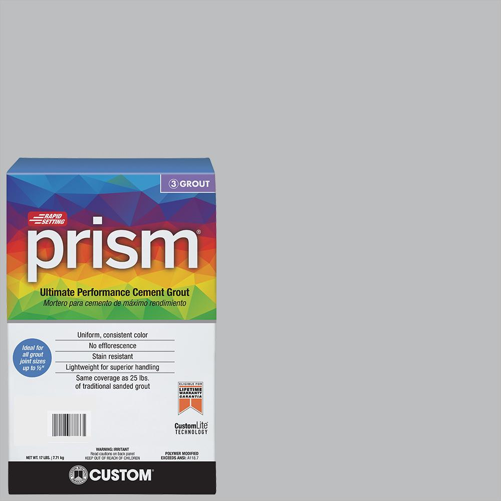 Custom Building Products Prism #115 Platinum 17 lb. Grout