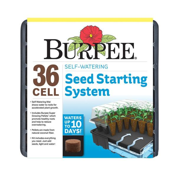 36-Cell Self-Watering Greenhouse Kit