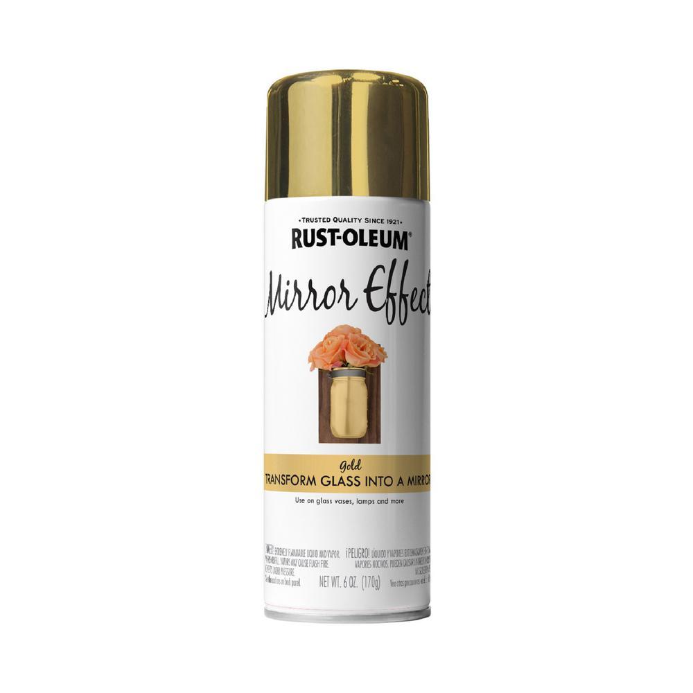 6 oz. Gold Mirror Effect Spray Paint