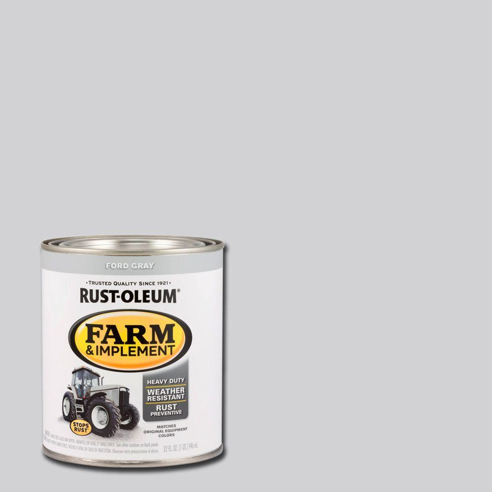 1-qt. Farm and Implement Ford Gray Paint (Case of 2)