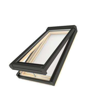 22-1/2 in. x 26-1/2 in. Manual Venting Deck-Mounted Skylight with Tempered Low-E366 Glass