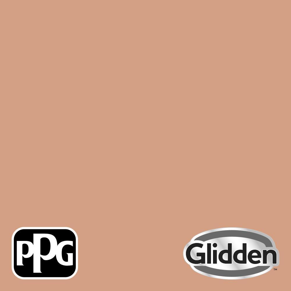 Glidden Premium 8 oz. PPG1069-4 Orange Maple Semi-Gloss Interior Paint Sample