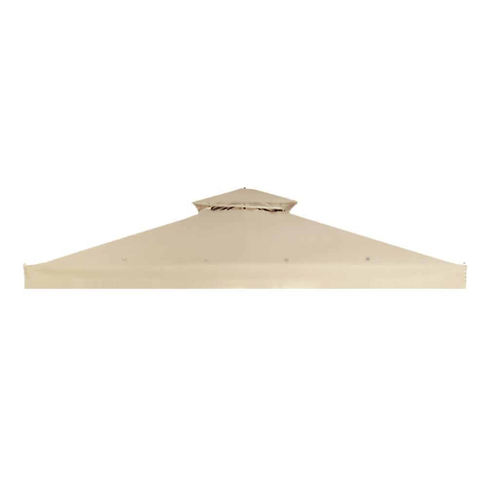 RipLock 350 Beige Replacement Canopy for 10 ft. x 10 ft. Arrow Gazebo