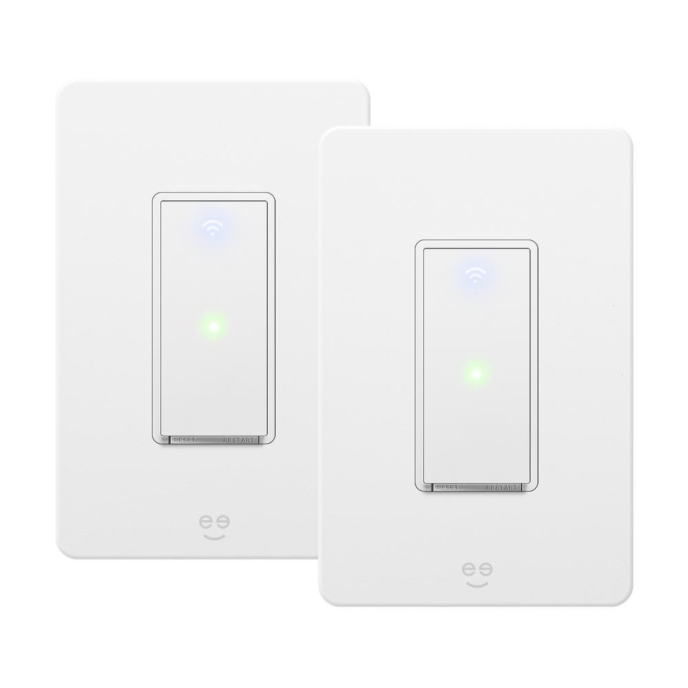 Tap 3-Way Smart Wi-Fi 3 Way Light Switch Kit (2 Pack)