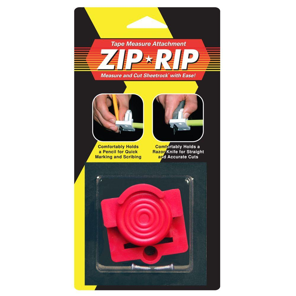Zip-Rip Tape Measure Attachment