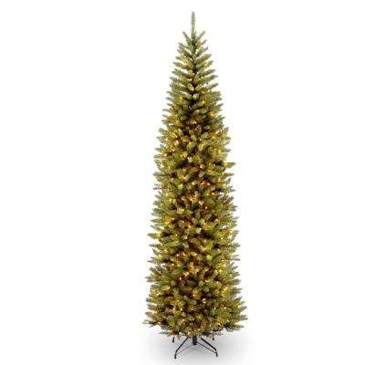 16 ft. Kingswood Fir Pencil Tree with Clear Lights