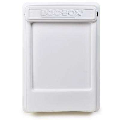11.5 in. x 18.5 in. x 4 in. Outdoor/Indoor Smaller Posting Permit Box Unit