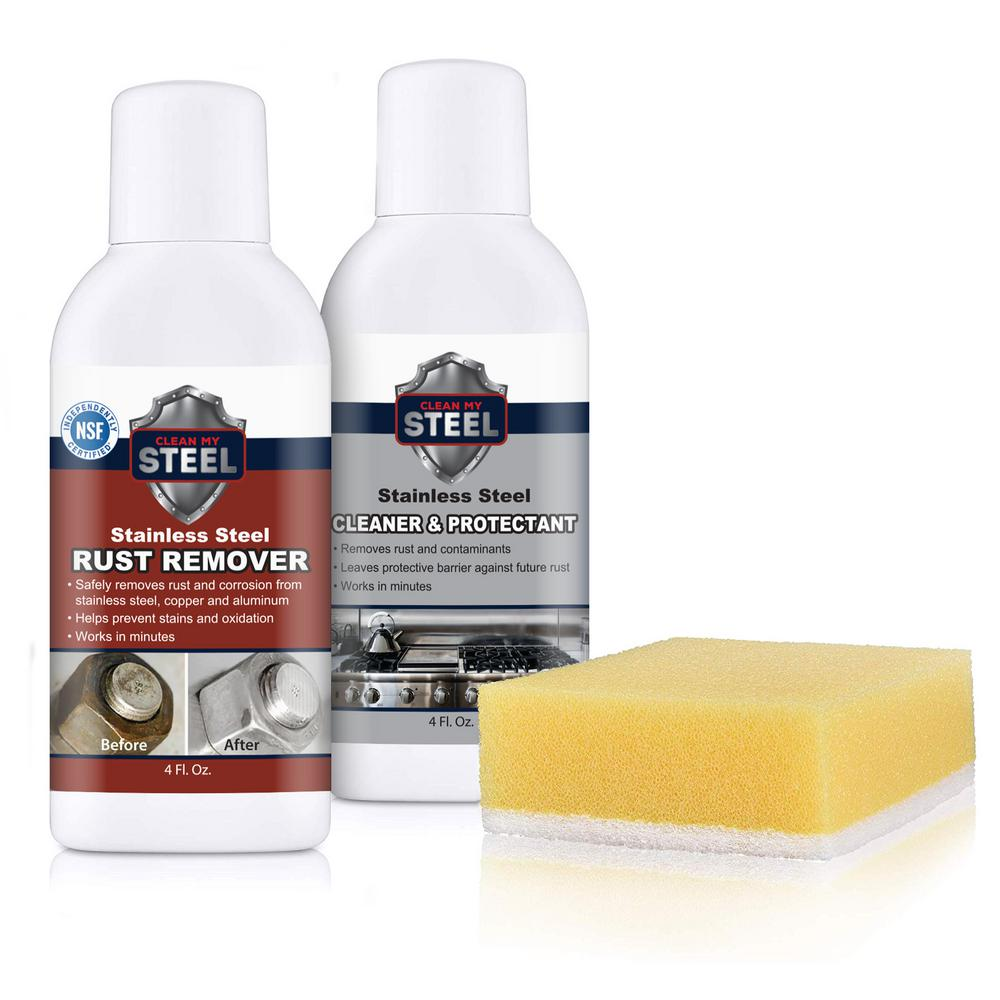 Stainless Steel Rust Remover Kit 4 oz