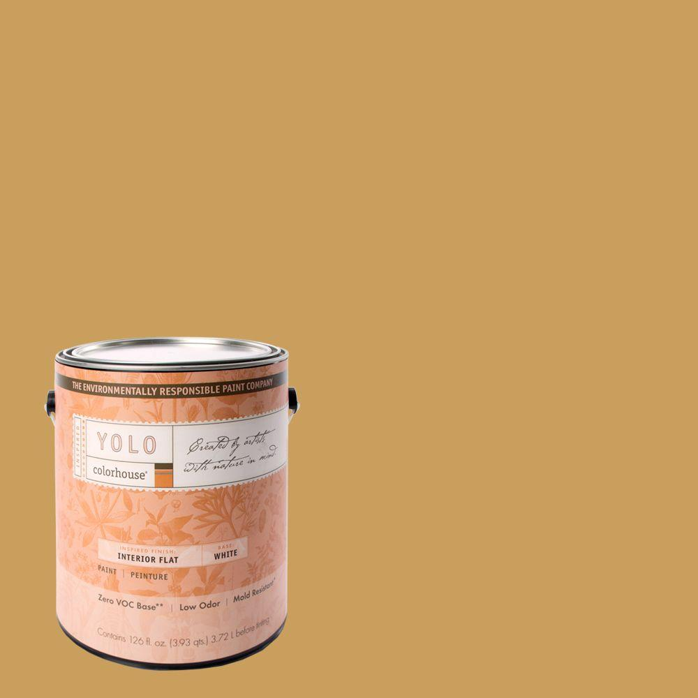 YOLO Colorhouse 1-gal. Grain .06 Flat Interior Paint-DISCONTINUED