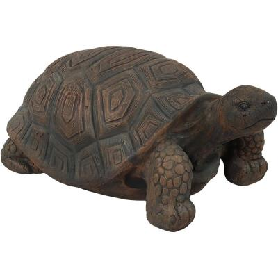 20 in. Tanya the Tortoise Indoor-Outdoor Lawn and Garden Statue