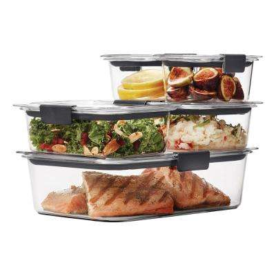 Brilliance 10-Piece Food Storage Containers with Lids