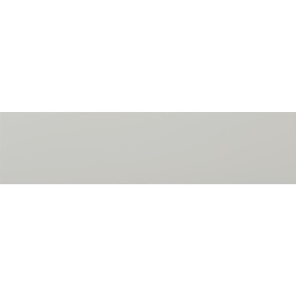 Emser Choice Gray Matte 3.94 in. x 9.84 in. Ceramic Wall Tile (10.76 sq. ft. / case)