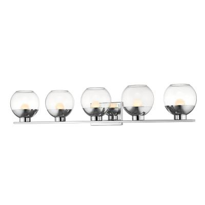 Persis Chrome 8-Watt Integrated LED Bath Light