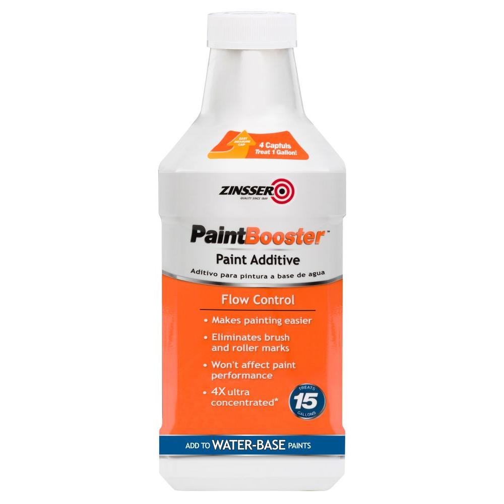 Zinsser 1 Qt Paint Booster Flow Control Additive For Water Based