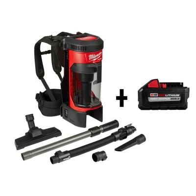 M18 FUEL 18-Volt Lithium-Ion Brushless 1 Gal. Cordless 3-in-1 Backpack Vacuum W/ HIGH OUTPUT XC 8.0 Ah Battery