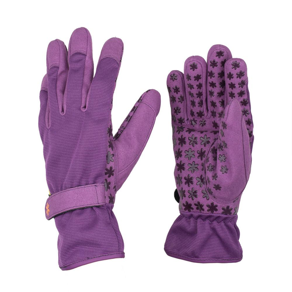 Large Synthetic Leather Utility Garden Gloves
