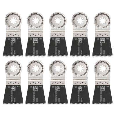 1-3/4 in. E-Cut Precision Saw Blade Starlock Plus (10-Pack)