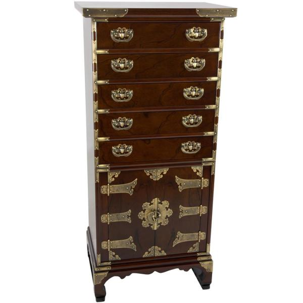 Oriental Furniture Brown Chest KRN-H-6