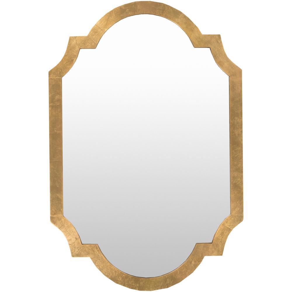 Morley 30 in. x 45 in. Contemporary Framed Mirror
