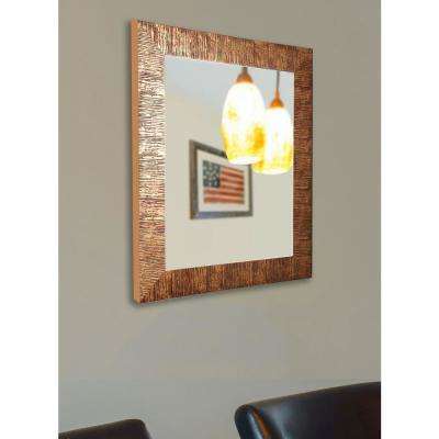 37.5 in. x 43.5 in. Sunset Bronze Non Beveled Vanity Wall Mirror