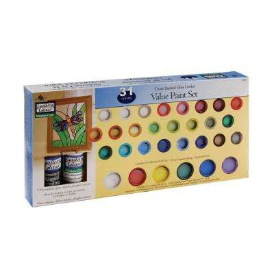 Window Color Value Paint Set (31-Colors)