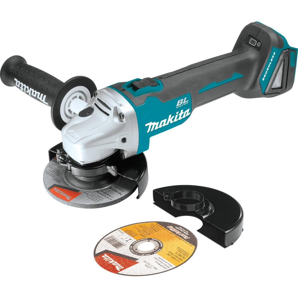 18-Volt LXT Lithium-Ion Brushless Cordless 4-1/2 in. Compact Cut-off/Angle