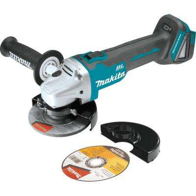 18-Volt LXT Lithium-Ion Brushless Cordless 4-1/2 in. Compact Cut-off/Angle Grinder w/ Automatic Speed Change (Tool-Only)