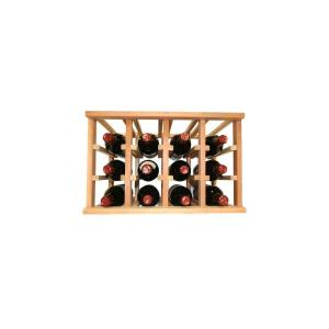 Click here to buy  Mini Stack Series- 12 Bottle Individual Wine Rack 11-15/16 inch H x 18-11/16 inch W.