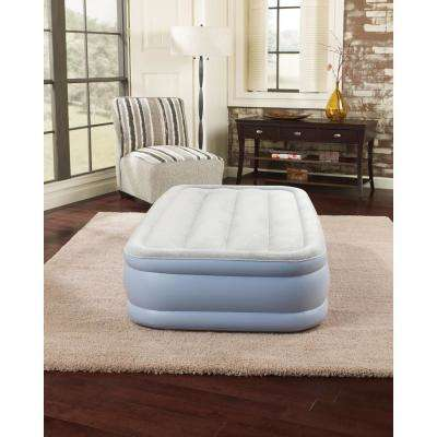 Twin Elevated Adjustable Air Bed Mattress