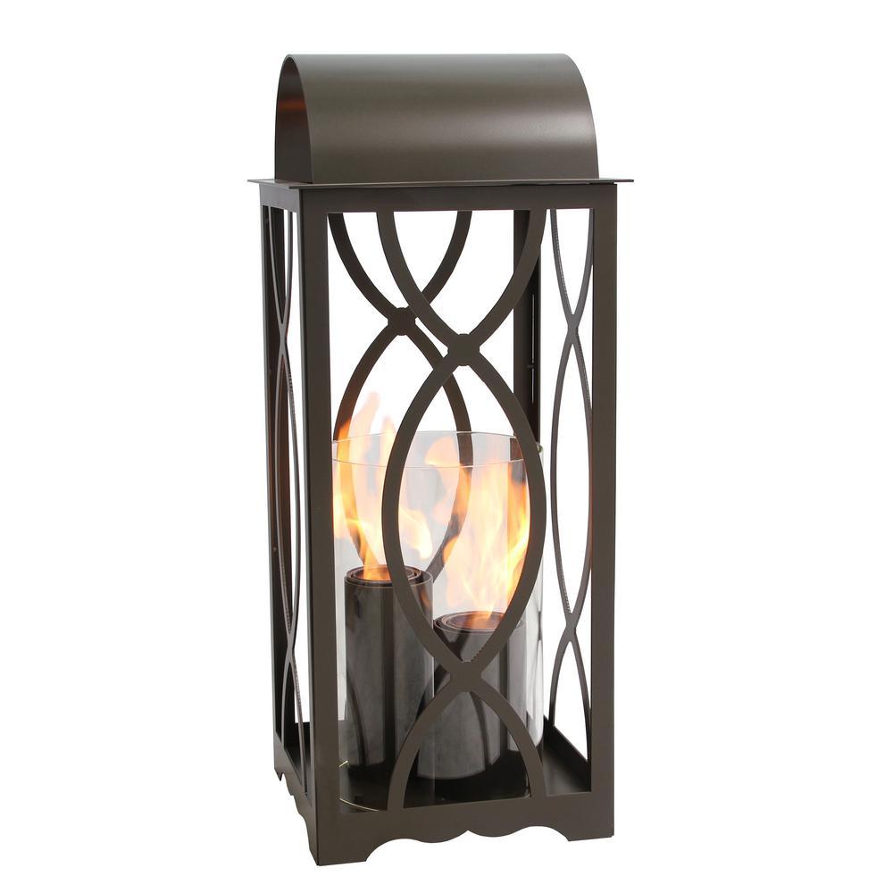 Augusta 32.5 in. Lantern in Bronze (Large Size)