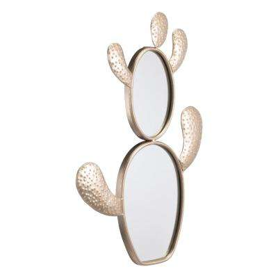 Cactus Champagne Gold Wall Mirror