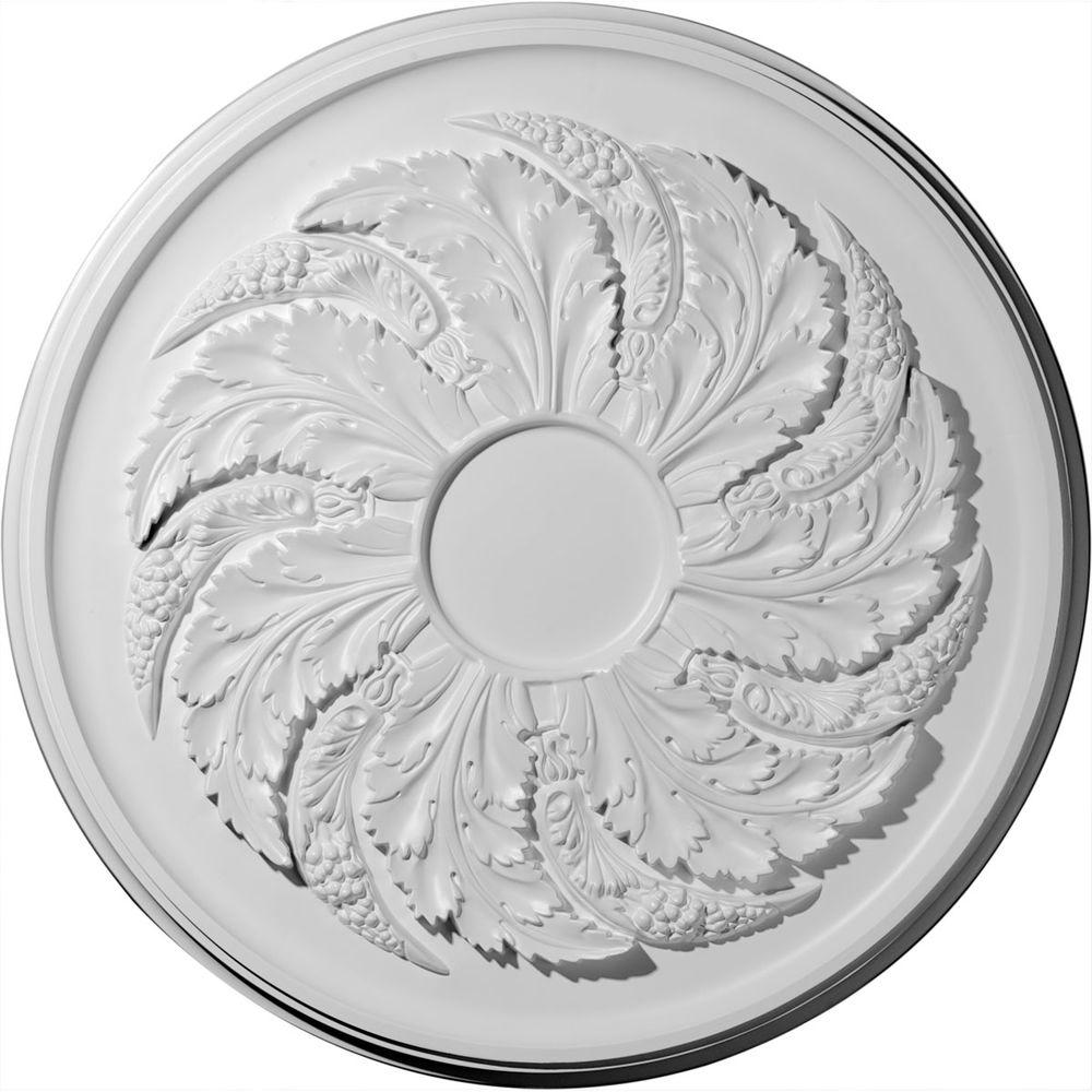 Ekena Millwork 42-1/8 in. Sellek Ceiling Medallion